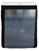 Morning Spider Web Duvet Cover