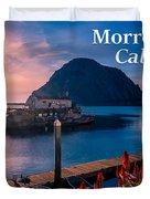 Morrow Bay California Duvet Cover
