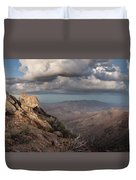 Mount Laguna At Dusk Duvet Cover