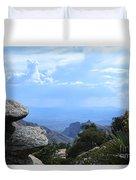 Mount Lemmon View Duvet Cover