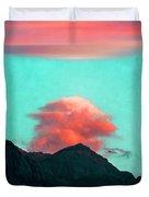 Mountain Daybreak Duvet Cover