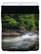 Mountain Stream In Summer #3 Duvet Cover by Tom Claud