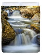 Mountain Stream Waterfall  Duvet Cover