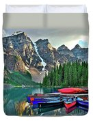 Mountain Tranquility Duvet Cover