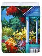 Mr Bodden's Garden Duvet Cover