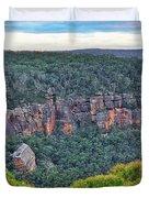 Mt Piddington - Nsw - Australia Duvet Cover