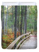 Mud Pond Trail - Pondicherry Wildlife Refuge, New Hampshire Duvet Cover by Erin Paul Donovan