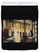 Museum Cafe Duvet Cover