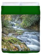 Nantahala Fall Flow Duvet Cover