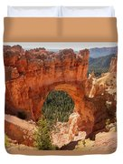 Natural Bridge - Bryce Canyon - Utah Duvet Cover