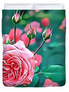 Naturalness And Flowers 31 Duvet Cover