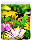 Naturalness And Flowers 35 Duvet Cover