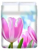 Naturalness And Flowers 40 Duvet Cover