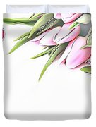 Naturalness And Flowers 42 Duvet Cover