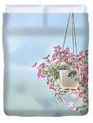 Naturalness And Flowers 43 Duvet Cover