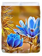 Naturalness And Flowers 47 Duvet Cover
