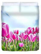 Naturalness And Flowers 48 Duvet Cover