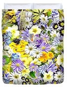 Naturalness And Flowers 54 Duvet Cover
