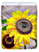 Naturalness And Flowers 60 Duvet Cover