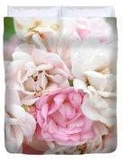 Natures Wedding Bouquet Duvet Cover