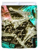 Neo Romantics Duvet Cover