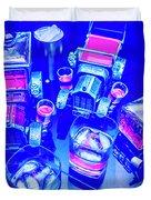 Neon Bar Duvet Cover