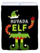 Nevada Elf Xmas Elf Santa Helper Christmas Duvet Cover