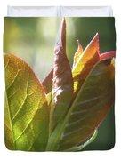 New Chokecherry Leaves Duvet Cover