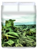 New Mexico Raw Duvet Cover
