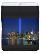 New York City 9/11 Commemoration  Duvet Cover