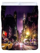 New York City Street Duvet Cover