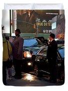 New York, New York 29 Duvet Cover by Ron Cline