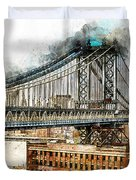 New York Panorama - 29 Duvet Cover