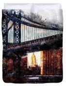 New York Panorama - 30 Duvet Cover