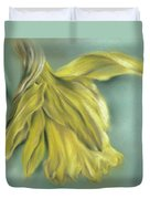 Newly Blossoming Yellow Daffodil Duvet Cover by MM Anderson