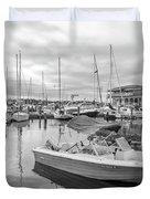 Newport Rhode Island Harbor Duvet Cover
