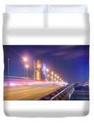 Night Transit Duvet Cover