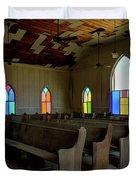 No More Sermons  Duvet Cover