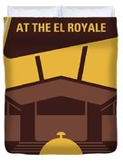 No1044 My Bad Times At The El Royale Minimal Movie Poster Duvet Cover