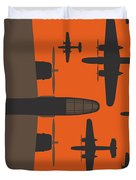 No1047 My Catch 22 Minimal Movie Poster Duvet Cover