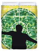 No1049 My Central Intelligence Minimal Movie Poster Duvet Cover