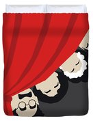No1053 My A Night At The Opera Minimal Movie Poster Duvet Cover