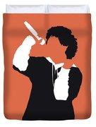 No223 My Bruno Mars Minimal Music Poster Duvet Cover