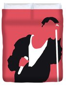 No242 My Depeche Mode Minimal Music Poster Duvet Cover
