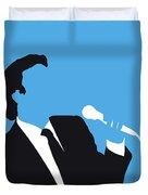 No279 My Julio Iglesias Minimal Music Poster Duvet Cover