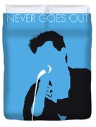 No289 My The Smiths Minimal Music Poster Duvet Cover