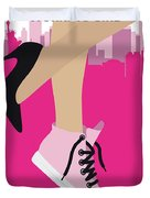 No987 My Working Girl Minimal Movie Poster Duvet Cover