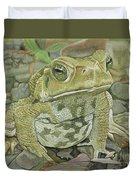 Noble Toad Duvet Cover