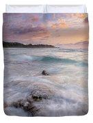 North Shore Sunset Surge Duvet Cover