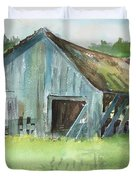 Northern State Farm, Skagit Valley Duvet Cover